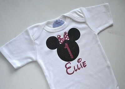 Minnie Mouse Personalized T-Shirt, Minnie Mouse, Kids T-Shirts