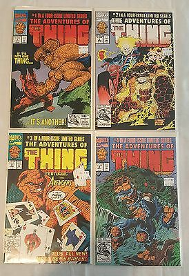 The Adventures of the Thing Limited Comic Series Full Run 1-4
