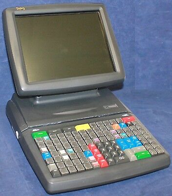 VERIFONE P050-02-110 RUBY TOPAZ 1 TOUCH SCREEN POS REGISTER CONSOLE for Sapphire