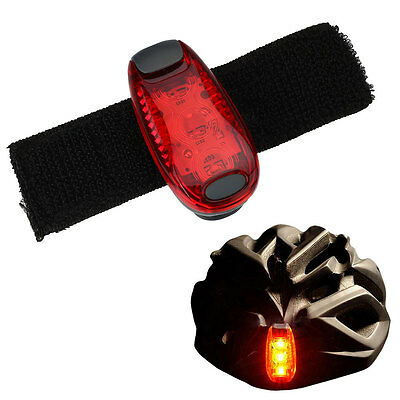 Bicycle Taillights Outdoor Cycling Running Helmet Backpack Safety Warning Light