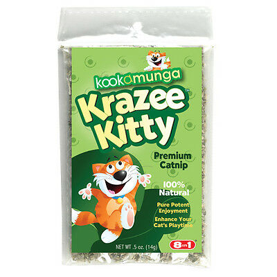 Kookamunga Krazee Kitty Catnip - Poly Bag - 0.5 oz