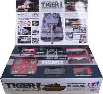 Tamiya 1/16 R/C Tank Kit - Tiger I Early (w.Full Options)