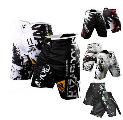 MMA Fight Shorts Kick Boxing Cage Fighting Grappling shorts Training pants Gym
