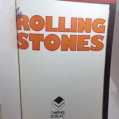 Vintage Book The Rolling Stones By Jeremy Pascall & Rob Burt 1977