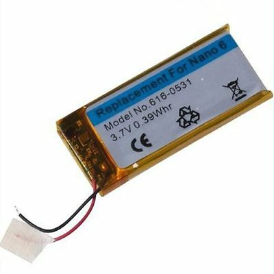 for iPod Nano 6th Gen Replacement Internal Li-ion Battery Batterie 3.7V