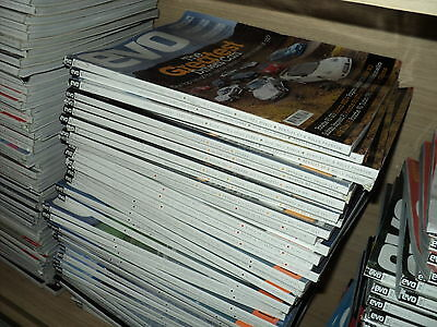 EVO Magazine - COLLECTION JOBLOT 10 ISSUES FROM THE YEAR 2001