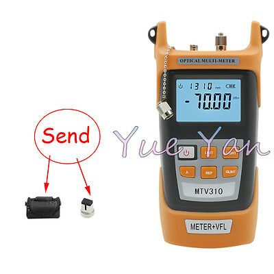 Handheld Optical Power Meter Tester -70~+3dBm SGV305 10MW Visual Fault Locator
