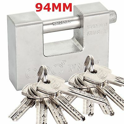 10 Keys Heavy Duty 20' 40' Container Garage Warehouse Shutter Padlock Chain Lock