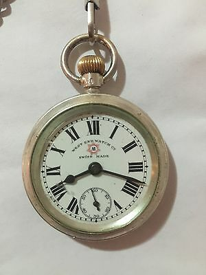 West End Watch Vintage Antique Swiss Made 100Yrs Old