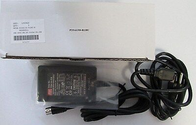 MEANWELL P25A13D-R1BU P25A13D-R1B 25W Switching Table Top Power Supply 5-pin DIN