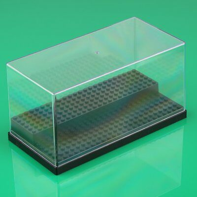 New Acrylic Display Box Case For Lego Minifigures Plastic Black/Grey/White Block