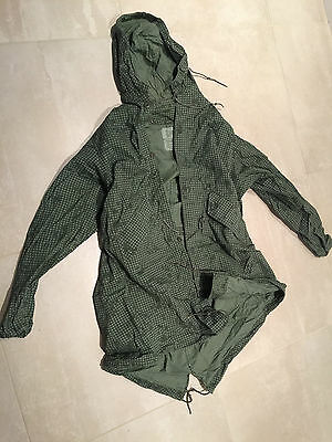 fishtail parka, night desert,shell used A+& liner ,new large,1983