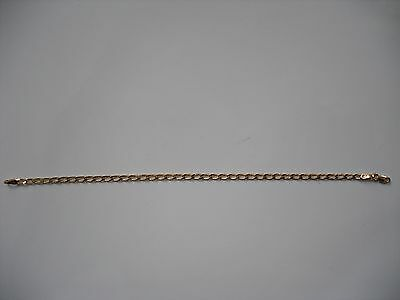 "10k Yellow Gold Link Bracelet 7.25"" 2 grams 2 mm - NEW"