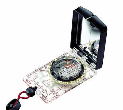 Suunto MC-2 NH Mirror Compass Scouts Hiking Camping Map Reading SS004231001