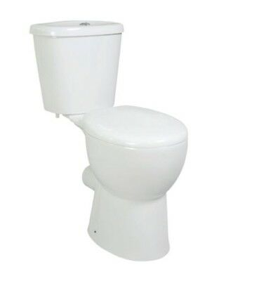 DOC M Comfort Height CC Elderly Disabled Soft Close Seat Close Coupled Toilet
