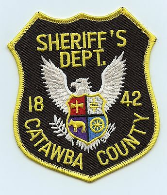 Catawba County Sheriff's Department, North Carolina, USA Shoulder Flash/Patch