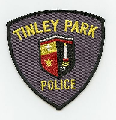 Tinley Park Police, Illinois, USA Shoulder/Uniform Flash/Patch