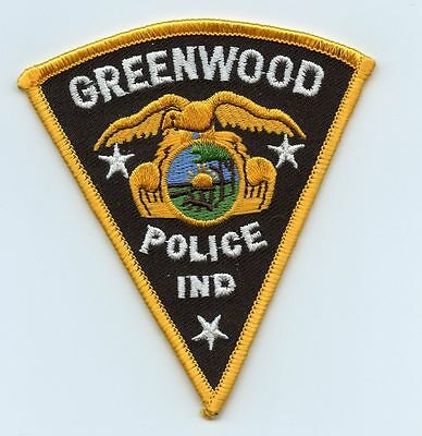 Greenwood Police, Indiana, USA Police Uniform Badge/Patch