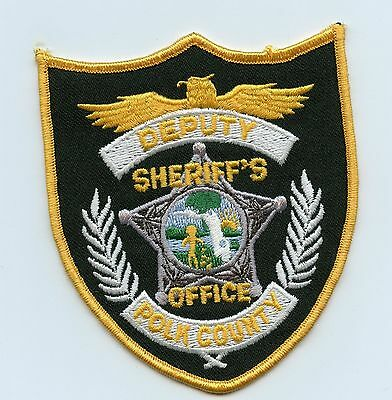 Polk County Deputy Sheriff, Florida, USA Police Shoulder Flash/Patch