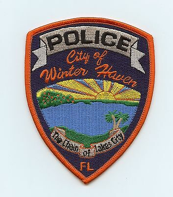 Winter Haven, Florida, USA, HTF Vintage Shoulder Flash/Patch