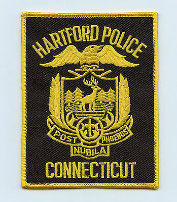 Hartford Police, Connecticut, USA Shoulder/Uniform Flash/Patch