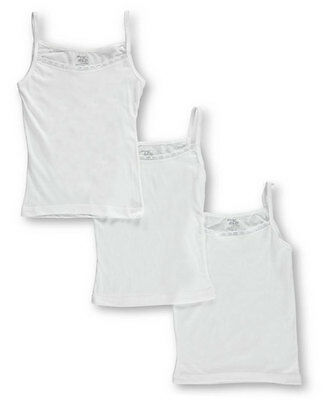 Tato Little Girls' Toddler 3-Pack Camisoles (Sizes 2T - 4T)
