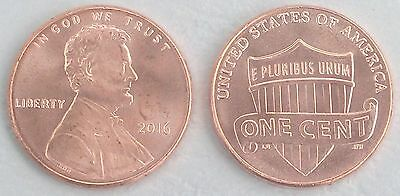 USA 1 Cent Lincoln 2016 P unz.
