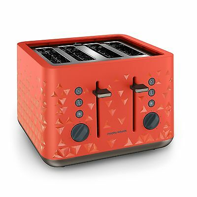 Morphy Richards 248106 Prism Toaster Orange