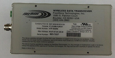 Freewave HTP-900RE Industrial 900 MHz Ethernet Radios (Set of 2)