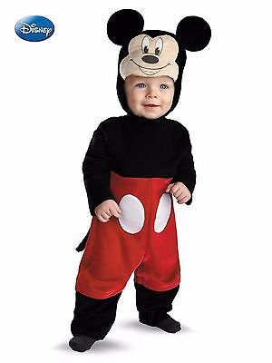 Mickey Mouse (Deluxe) Costume for Baby/Infant 6-12 & 12-18 Months by Disguise