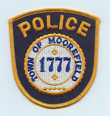 Town of Moorefield Police, West Virginia, USA, HTF Vintage Shoulder Flash/Patch