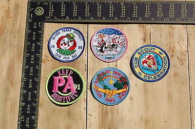 Lot of 5 Boy Scouts/Scouting Vintage BSA Patches/Badges #4