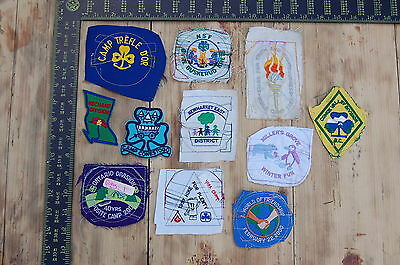 Lot of 11 Girl Guides Canada RARE Vintage Sample Patches/Badges #18