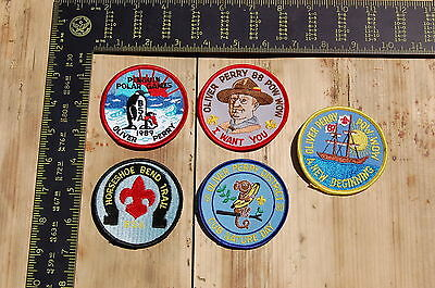 Lot of 5 Boy Scouts/Scouting Vintage BSA Patches/Badges #6
