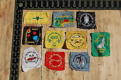 Lot of 10 Wolf Cubs Canada RARE Vintage Sample Patches/Badges #7