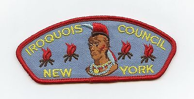 Iroquois Council Strip, New York, Boy Scouts/Scouting Vintage BSA Patch/Badge