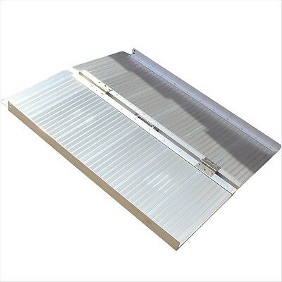Aluminium Wheelchair Wheel Chair Access Scooter Ramp Folding Loading Ramp 275kg