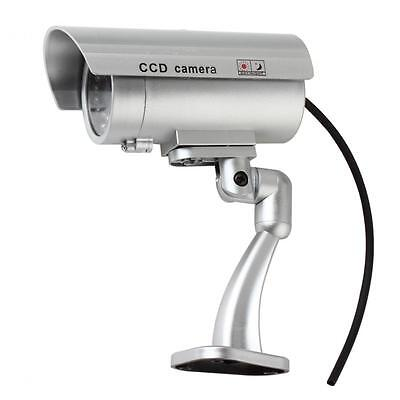 Outdoor Emulational Fake Dummy Security CCTV Camera with IR Blinking Red LED