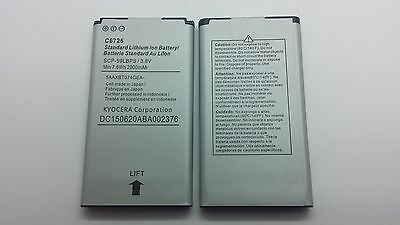Lot Of 2 New Battery For Kyocera C6725 C6530 C6530N Hydro Life 4G Scp-62Lbps