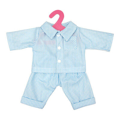 Blue Check Pajamas Set for 18'' American Girl Our Generation My Life Dolls