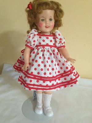 """Vintage Ideal Shirley Temple 12"""" Doll"""