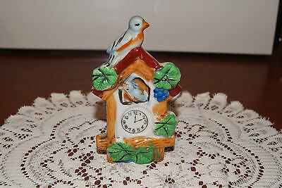 Vintage....estate....ceramic....cockoo Clock....wall Hanging Pocket....japan