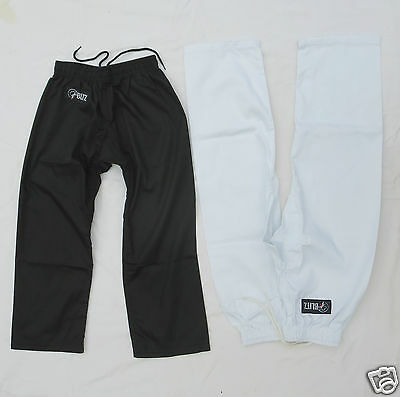 TROUSERS - Adult Child - Black or White for Martial Art - Karate - Taekwondo etc