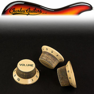 AA31010 ART OF AGING AGED RELIC PARCHMENT TIP SET STRAT STYLE