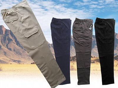 Mens Trousers Cargo Combat Work Pants Cotton size S - 6xl