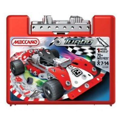 Meccano Space Chaos Small Cars Red 882350a