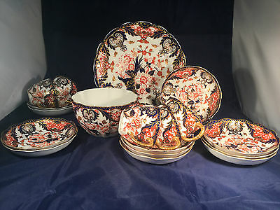Choice of Royal Crown Derby Kings Imari Pattern 383 1891/1892 Cup Saucer Plate