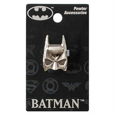 """BATMAN """"MASK"""" Pewter Lapel pin DC Comics NEW in PACKAGE"""