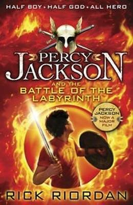 Percy Jackson and the Battle of the Labyrinth (Book 4) by Rick Riordan PB NEW