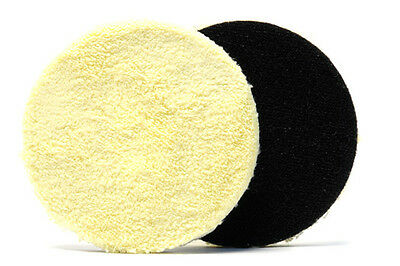 Ultra-Fiber Rotary Microfiber Buffing Pad Lake Country 6 1/2 Inch (2 Pack)